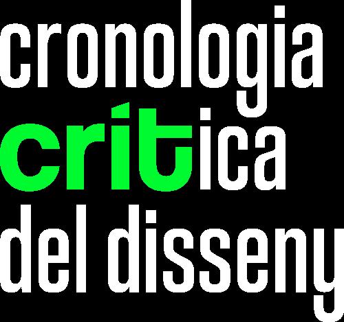 CRIT Cronologia crítica del disseny